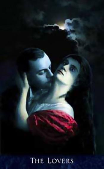 VI The Lovers - The Bohemian Gothic Tarot