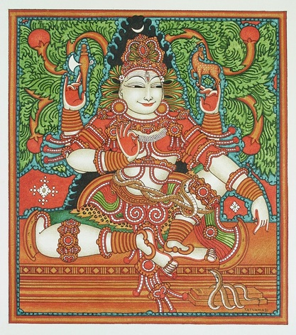 Lord Shiva as Dakshinamurthy