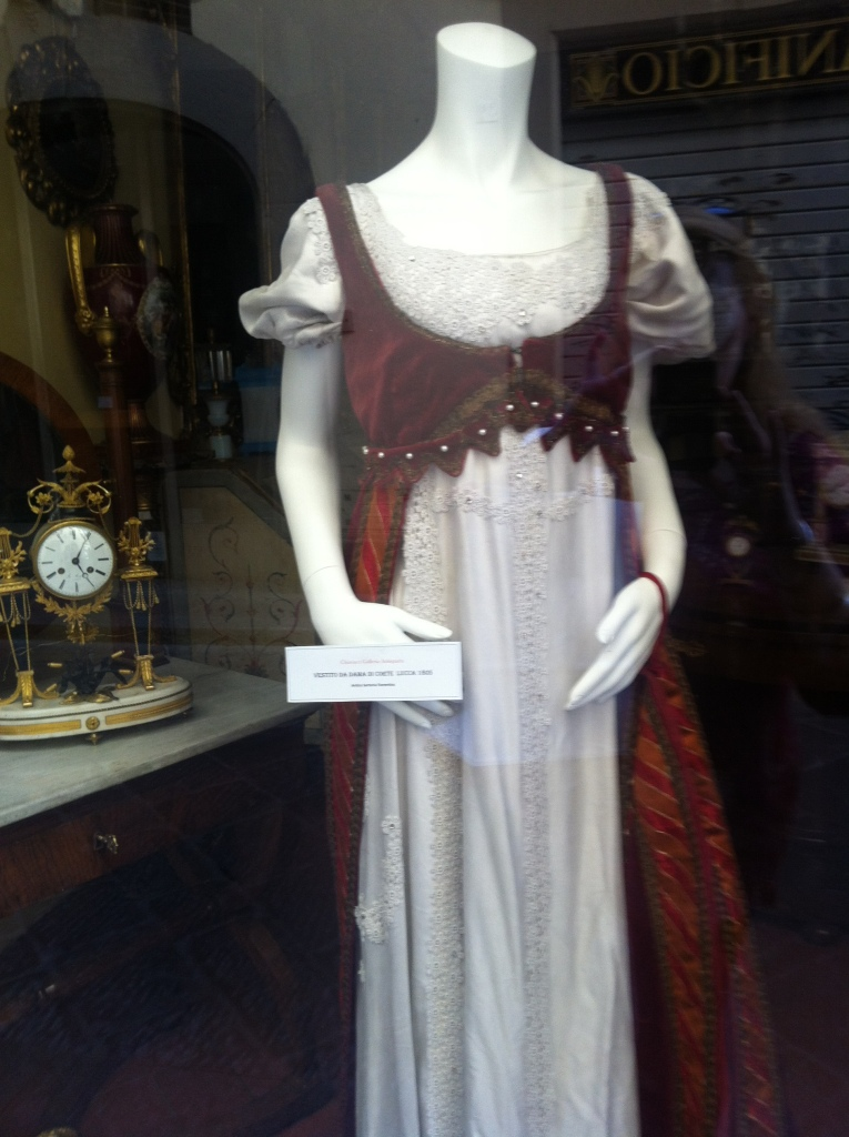 Wearable beauty applies in 1802 as much as in 2013.