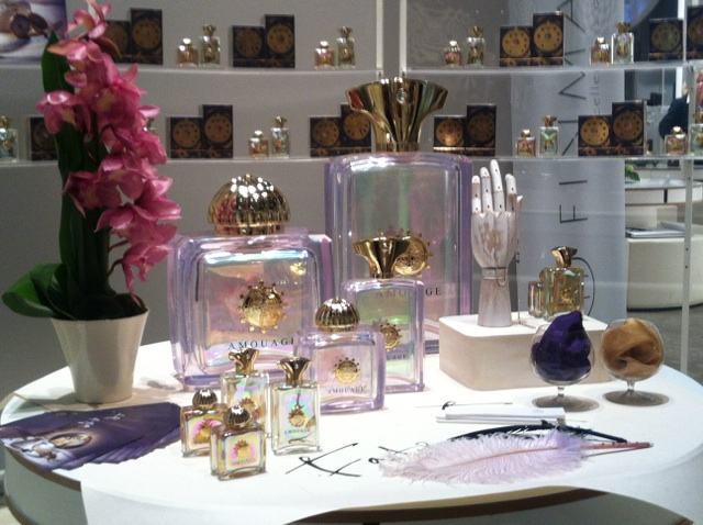 Amouage Fate display.
